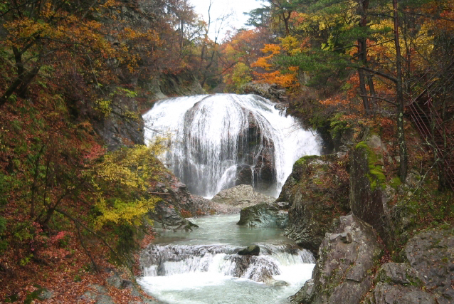 関山の大滝